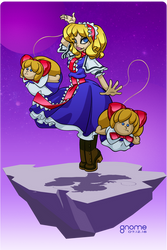 Alice Margatroid by gnome-oo