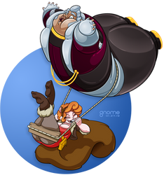 Commission: Squirrel Girl and Collector - Shipped by gnome-oo