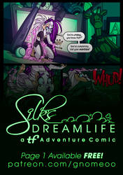 Silk's Dreamlife Page 1 - FREE!