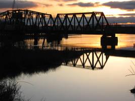 529 Bridge Sunset by aRetrodude