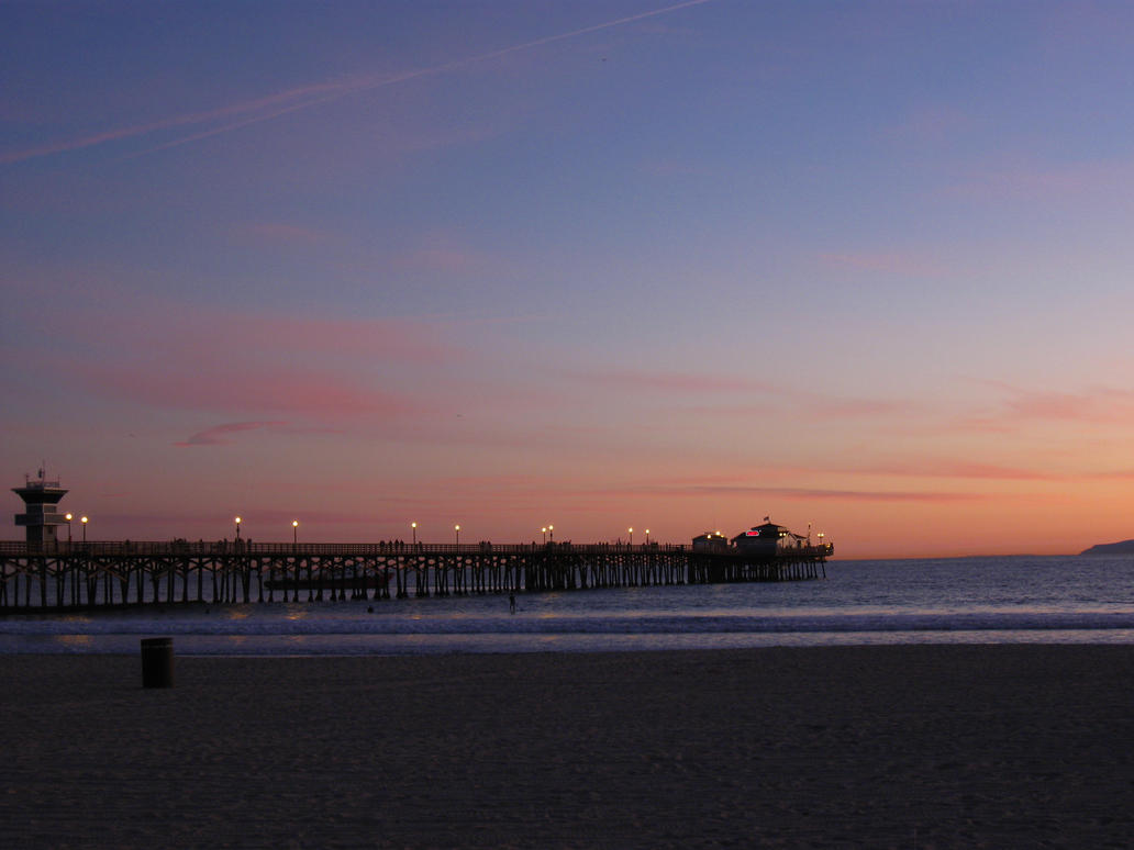 Seal beach pier by aretrodude on deviantart for Seal beach fishing