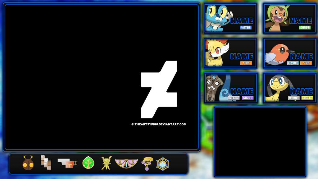 Pokemon X Layout Version 2 By Theartsypigg On Deviantart