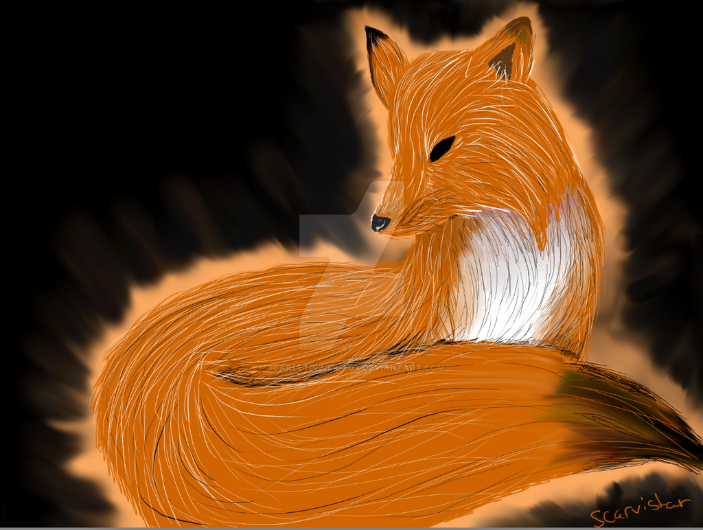 Fox by Scarlet-River-Fox