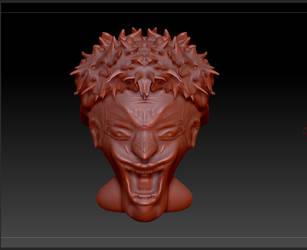 joker sculpture by Korslund