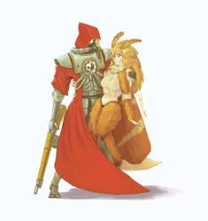 Skitarii Ranger and his girlfriend