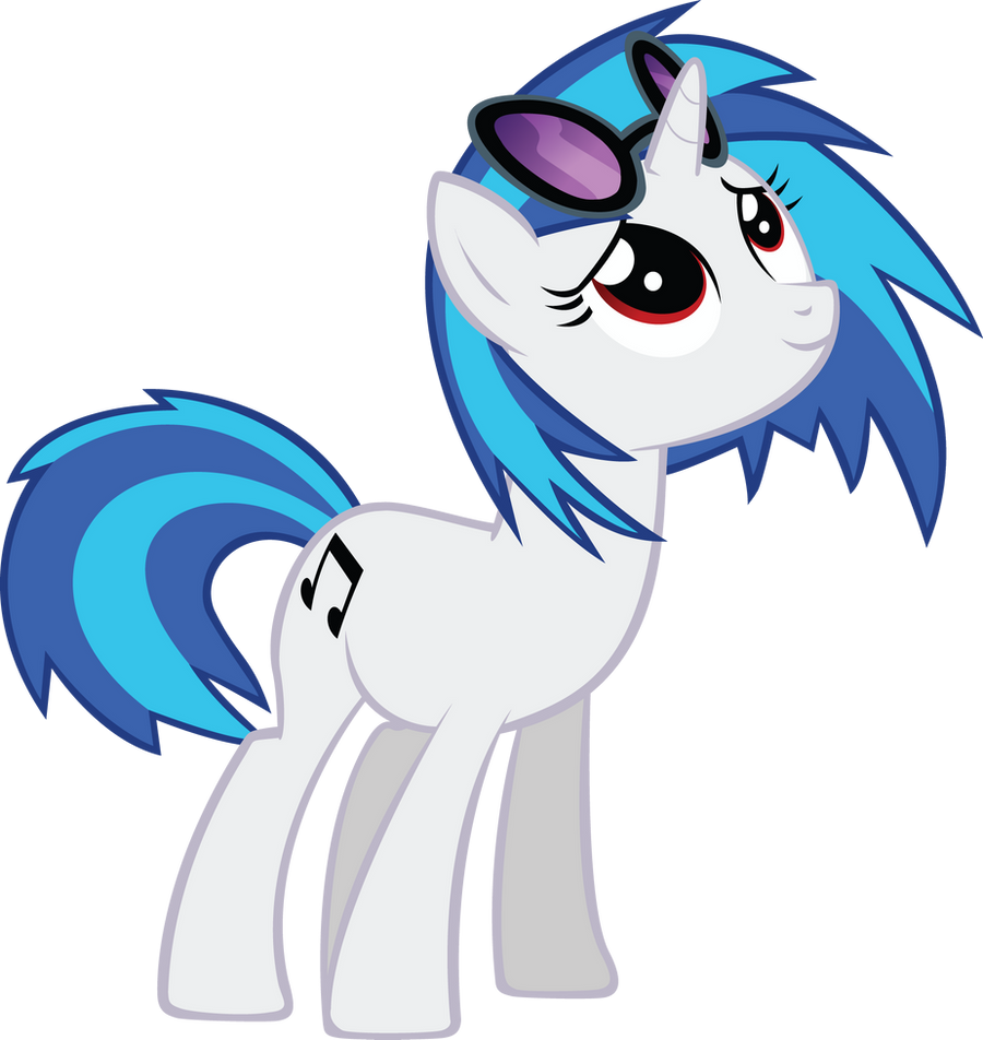 Ponies, Vinyl scratch and My little pony friendship on Pinterest