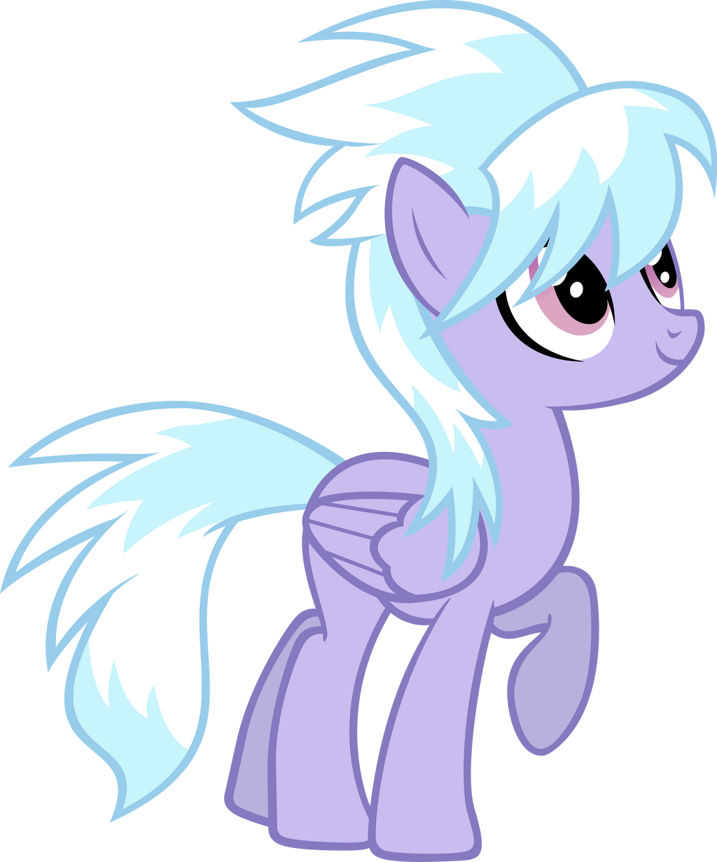 Cloudchaser is up to something. by Flutterflyraptor on