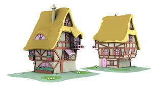 Ponyville Model - OGB_1 (Game/Animation)