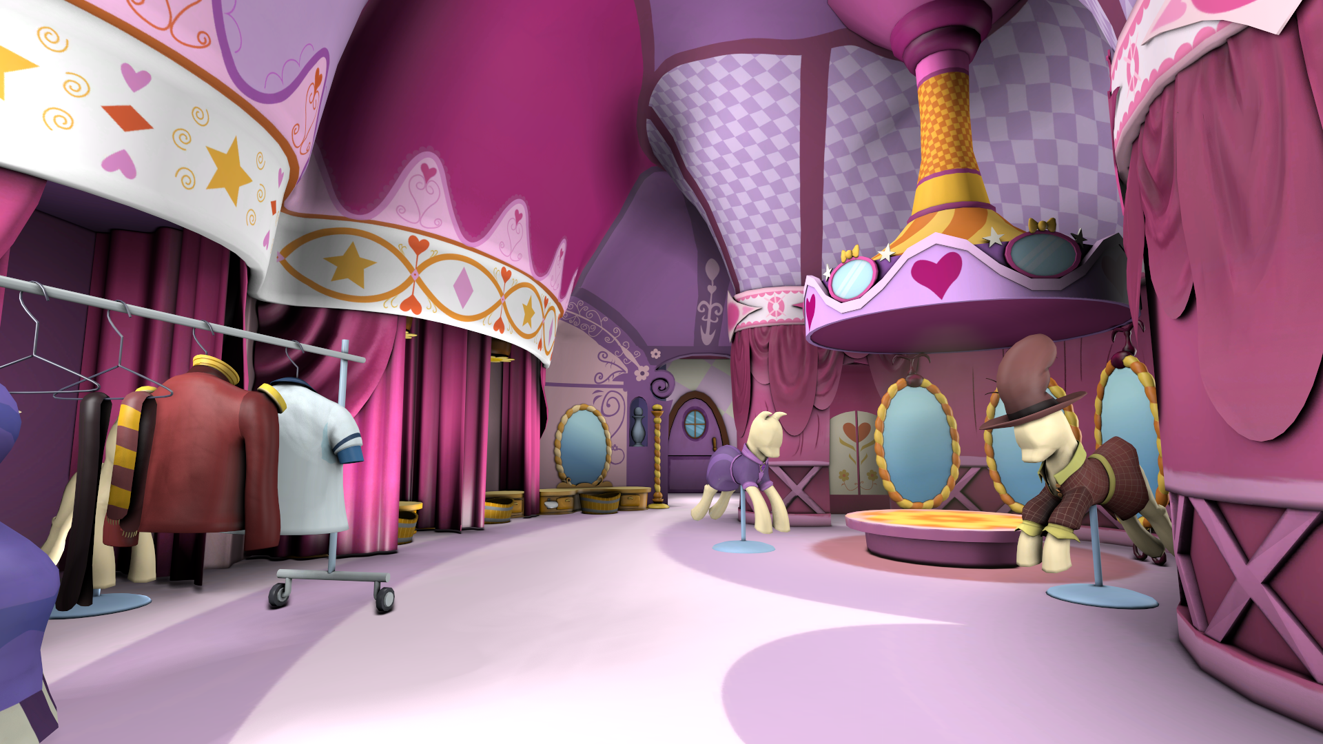 Carousel Boutique - Main Showroom by discopears