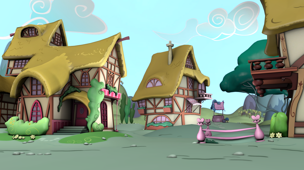ponyville environments release page by discopears on deviantart
