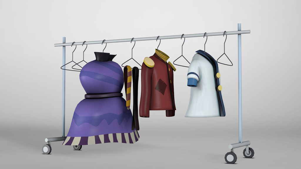 Clothing Cart by discopears