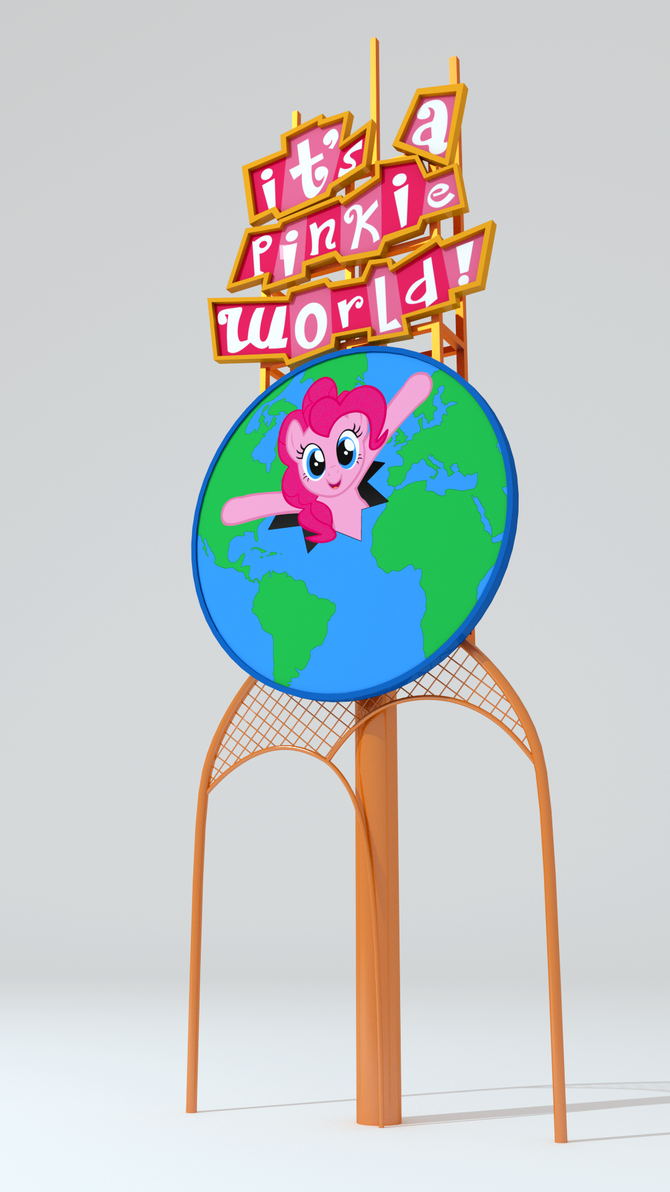 It 39 S A Pinkie World Sign Disney Parody By Discopears On Deviantart