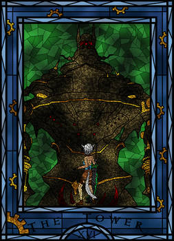 FFXIV-Tarot-Project-16-The-Tower