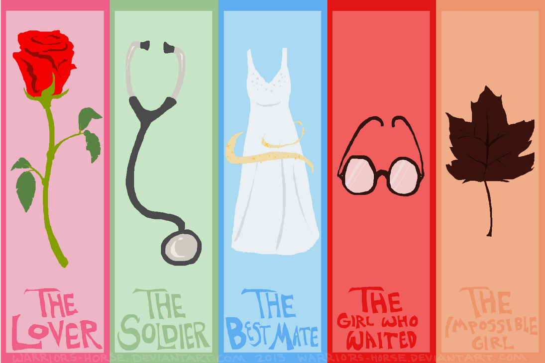 Doctor Who Companions by Warriors-horse