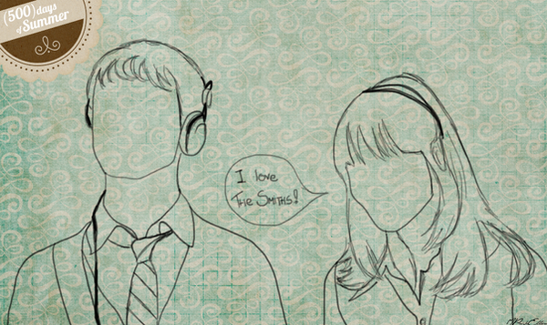 500 days of Summer Sketch by manupaivaellon on DeviantArt