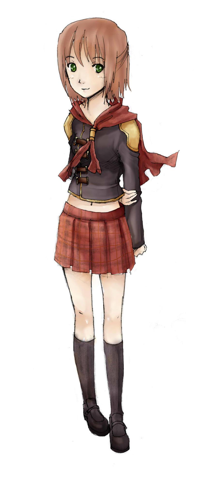 FFXIII Type-0 by akatsukiRei