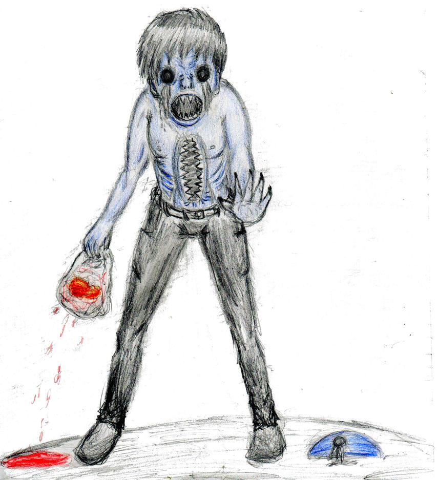 Eyeless Jack Doodle by Mademoiselle-Strange