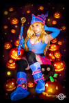 Halloween Dark Magician Girl cosplay by 20Tourniquet02