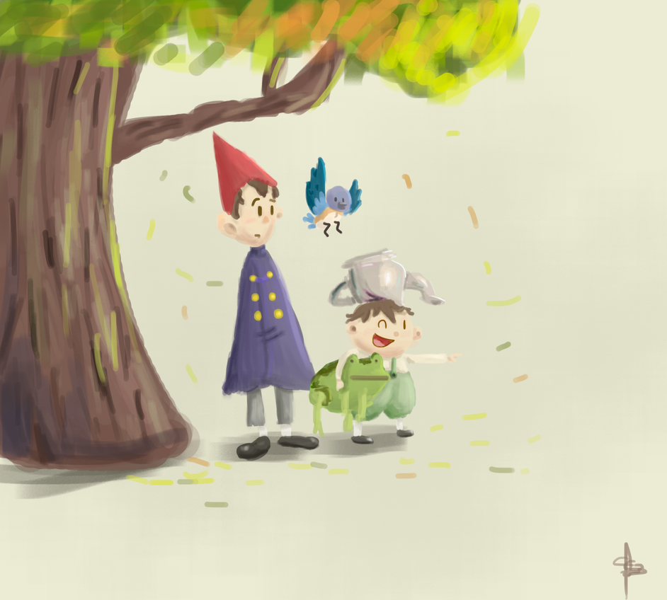 Over The Garden Wall By Cc3theartist On Deviantart
