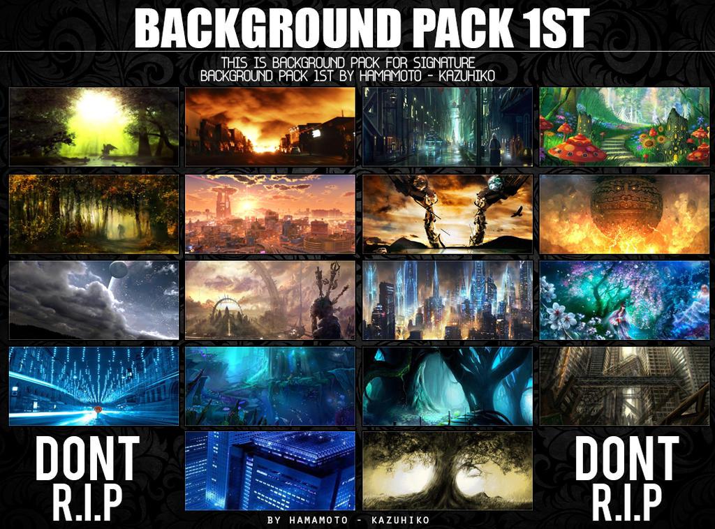 Background Pack 1st by Hamamoto-Kazuhiko