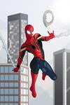 Ininifty War Spider-Man
