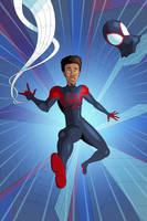 Spider-Man - Into the Spider-Verse - Miles by OwenOak95