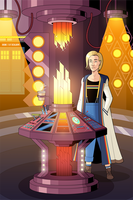 Doctor Who - 13th Doctor's TARDIS by OwenOak95
