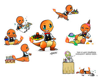 Charmander Service by KAN0101