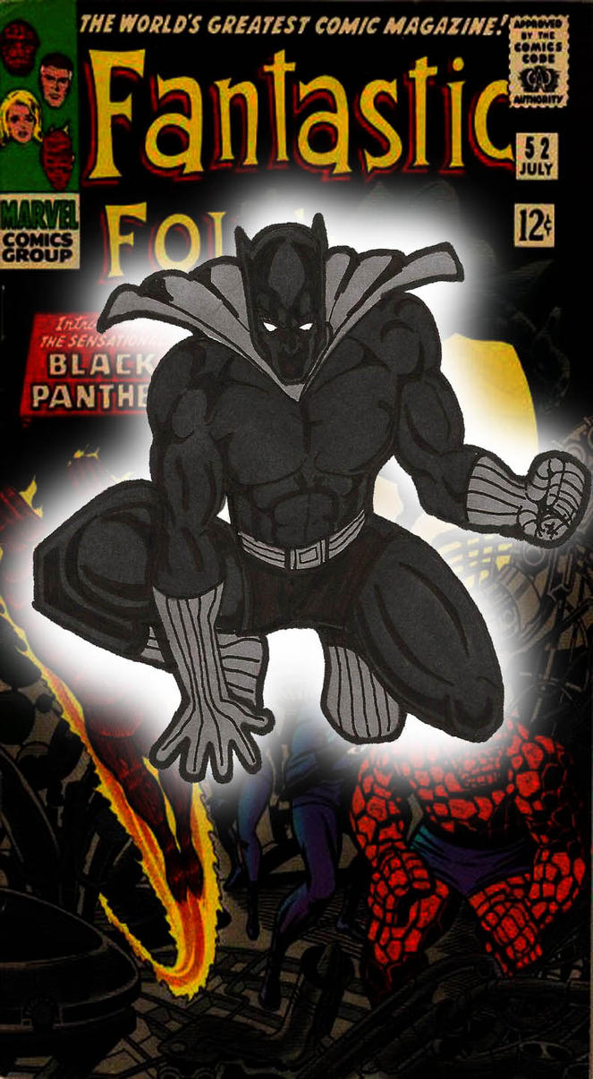 Classic Black Panther by RWhitney75