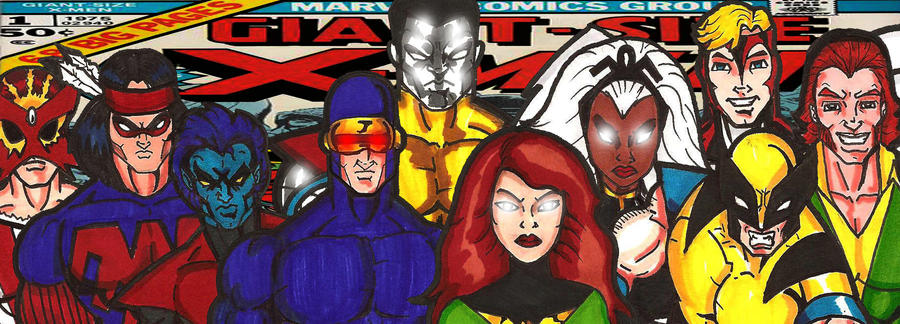 2nd Classic X-Men by RWhitney75