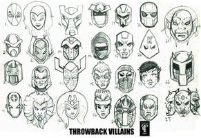 Throwback Villains by RWhitney75