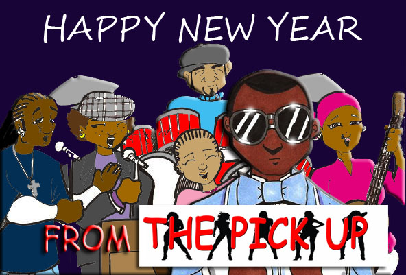 Happy New Year from THE PICK UP by RWhitney75