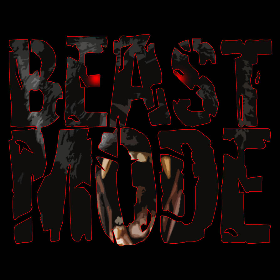 BEAST MODE Logo By RWhitney75 On DeviantArt