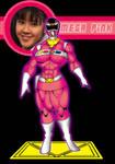 SBF Mega Pink Mega ranger