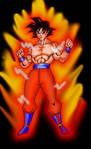 God Mode Goku by RWhitney75