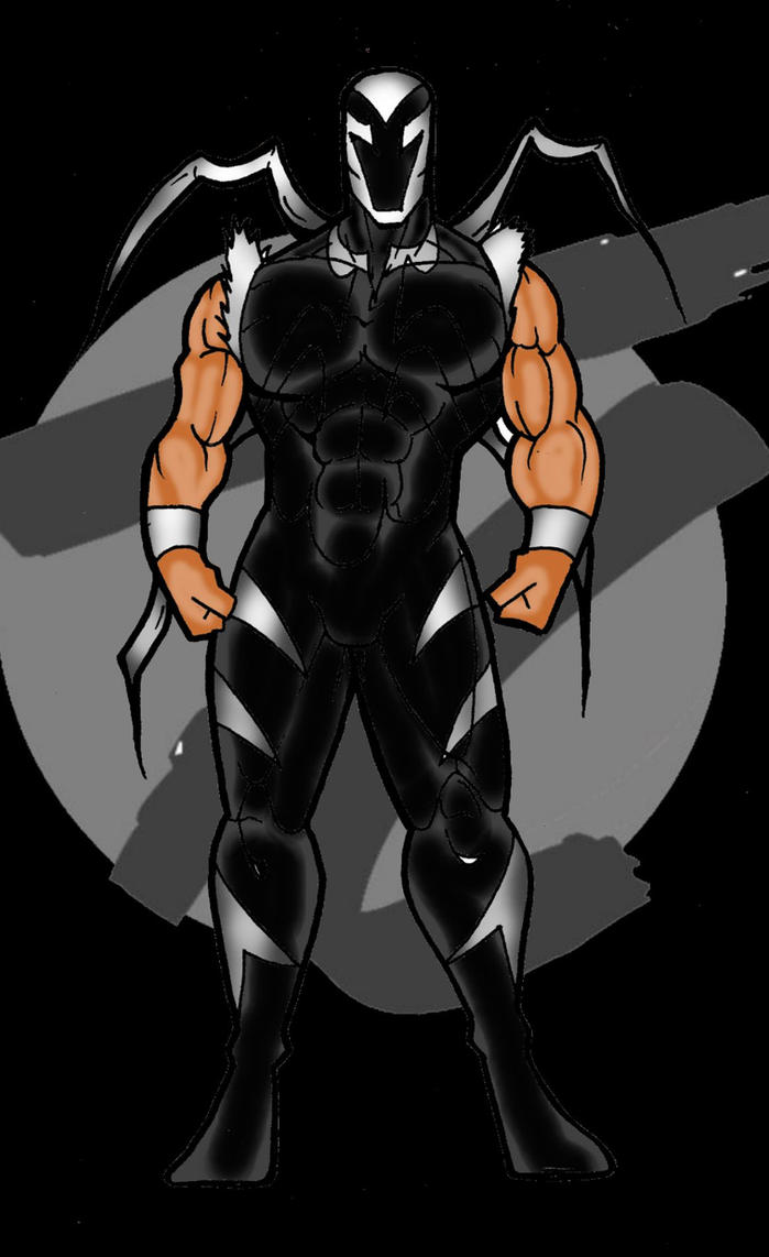 Throwback Comics Savage Spider black suit by RWhitney75