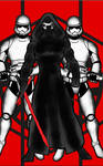 Star Wars Kylo Ren and the storm troopers by RWhitney75