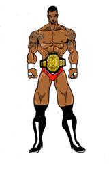 BOW Chase Ravage Randy Savage attire by RWhitney75