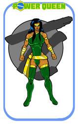 Throwbackcomics Power Queen