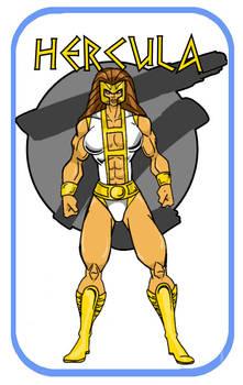 New Throwbackcomics Hercula 2nd costume
