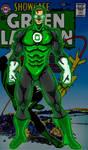 Classic Green Lantern Hal Jordan  by RWhitney75