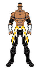 Bow 2k20 Rick Swagger Black Lighting attire