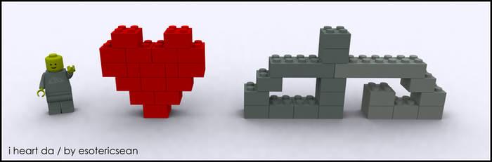 i heart deviantART by esotericsean