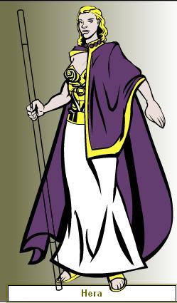 Hera as Queen