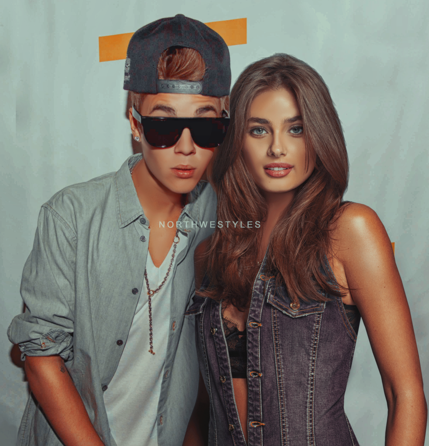 Taylor Hill And Justin Bieber Manip