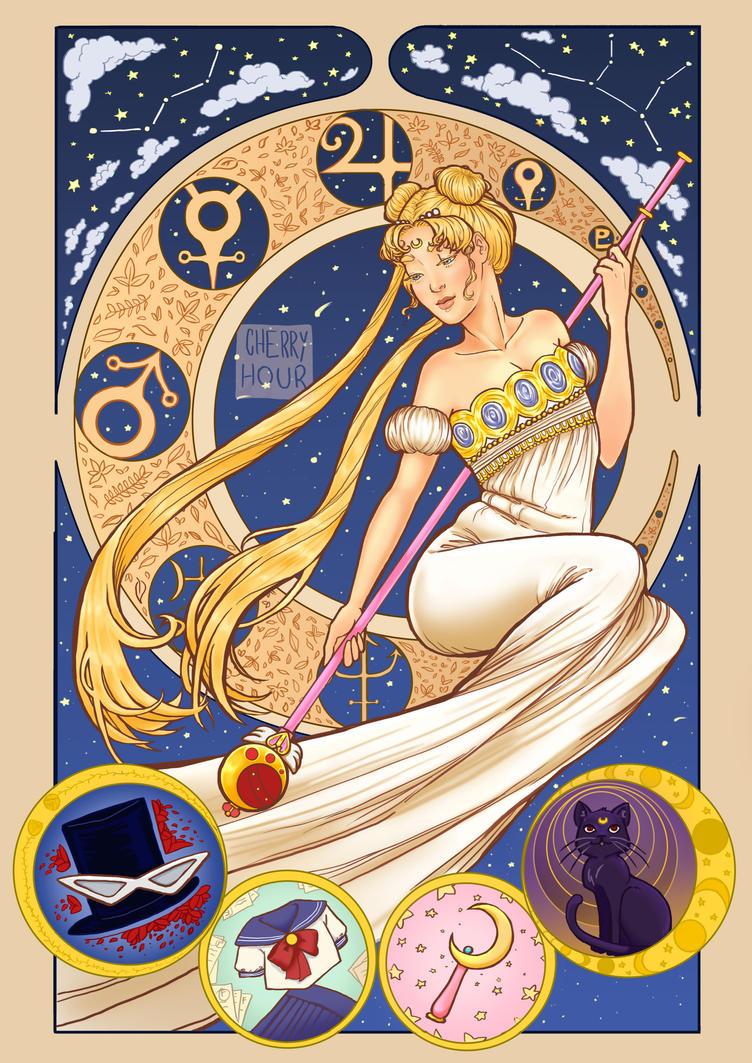 Queen Serenity by Onigiri-desu