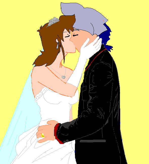 Mr And Mrs Hiwatari by tifafenrir09
