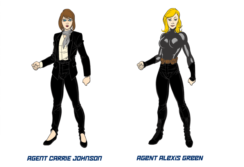 Marvel's Agents of S.H.I.E.L.D OCs by tifafenrir09