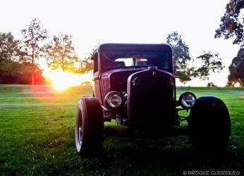 Hot Rod at Sunset by brookeguerrero13