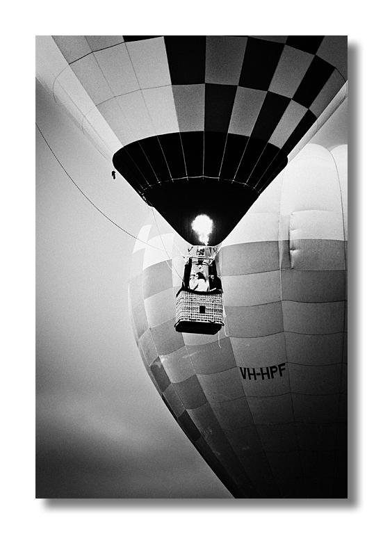 Hot Air Balloon by HarryZero